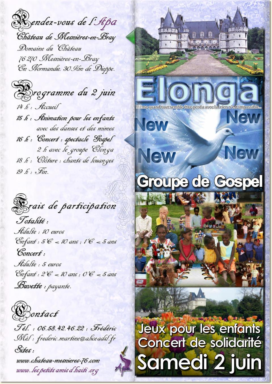 Le samedi 2 juin 2012 dès 14h, venez nombreux aux jeux et concert de Mesnières (76) !