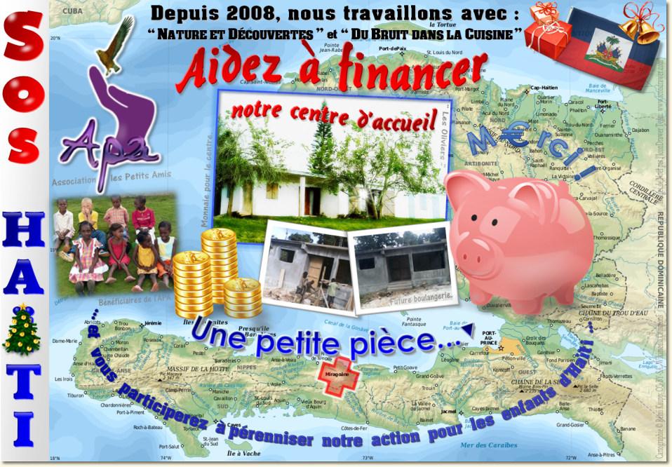 Affiche APA 2011 des emballages cadeaux à Créteil Soleil (94), depuis 2008.