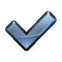 APA - Icône OK bleu.