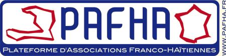 Logo de la PAFHA, Plateforme d'Associations Franco-Haïtiennes